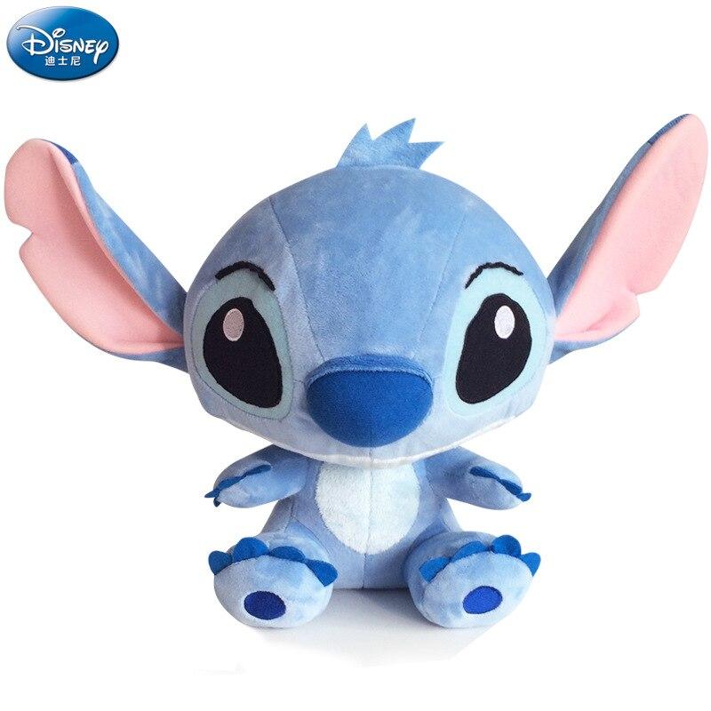 Disney Genuine Autorisierten Q Edition Stich Plüsch Puppe kinder Spielzeug Anime Star Baby spielzeug für jungen freundin geschenk mädchen spielzeug