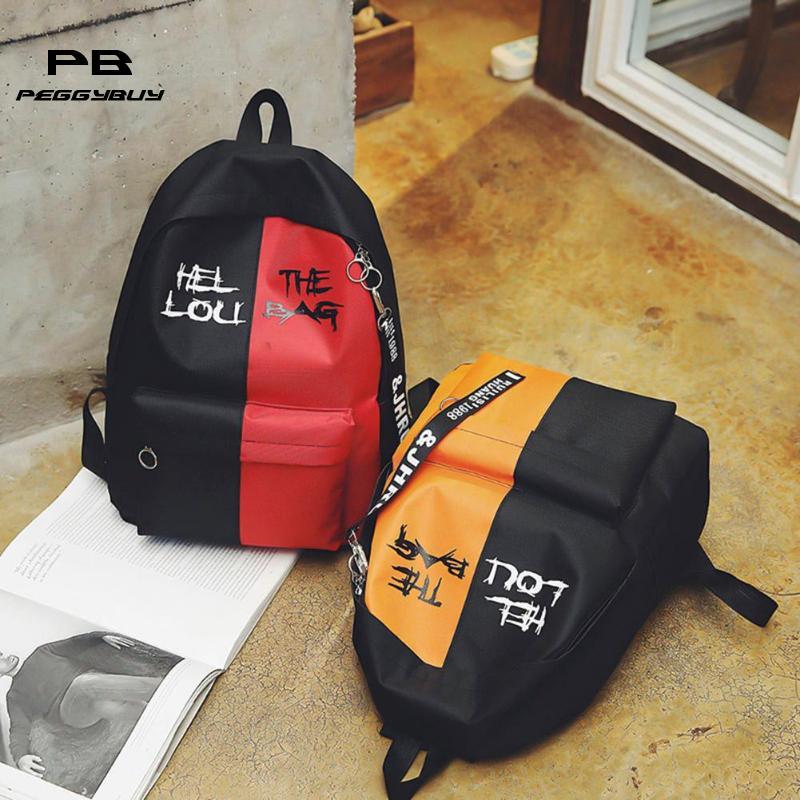 2019 Hot Nylon Women Backpack High Quality Korean Backpacks For Teenage Girls Boys School Shoulder Bag Bagpack Zipper Backbag #2