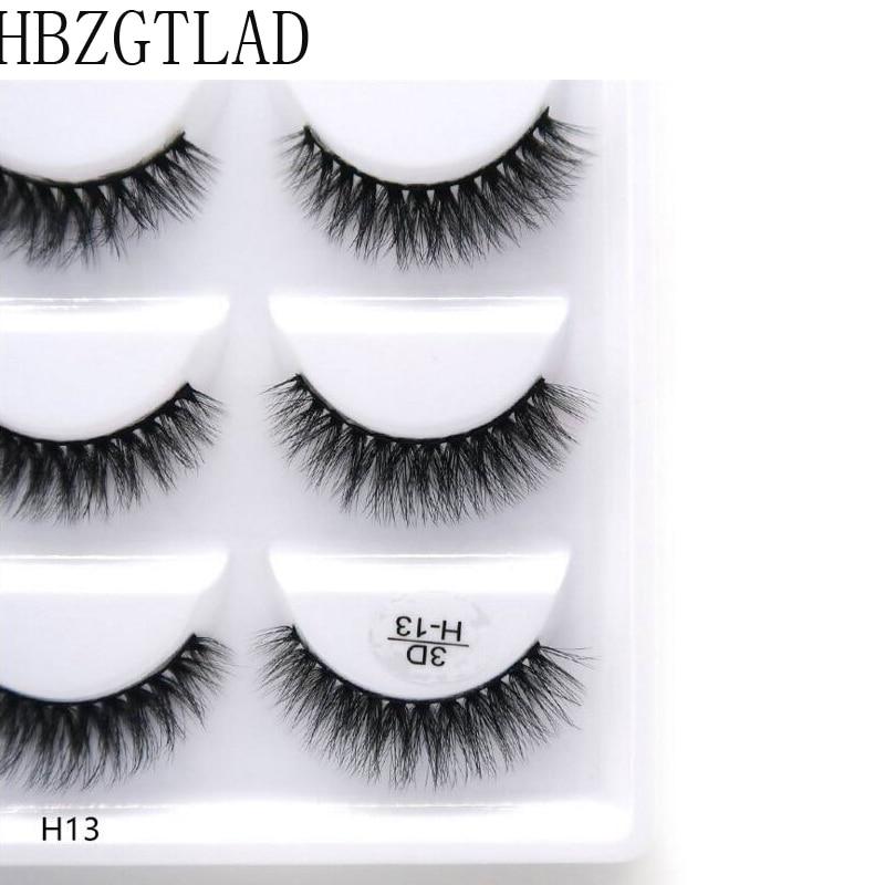 250 pairs 50box 100 Real Mink Fake Eyelashes 3D Natural False Eyelashes 3d Mink Lashes Soft