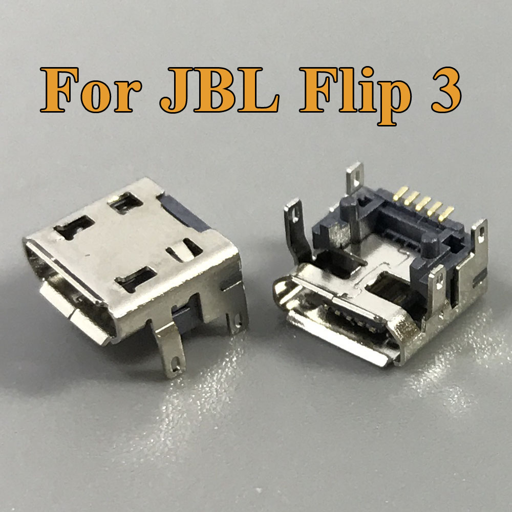 ChengHaoRan 20pcs For JBL FLIP 3 2 Pulse 2 Bluetooth Speaker Micro USB Jack Dock Charging Port Charger Connector Repair parts in Mobile Phone Flex Cables from Cellphones Telecommunications