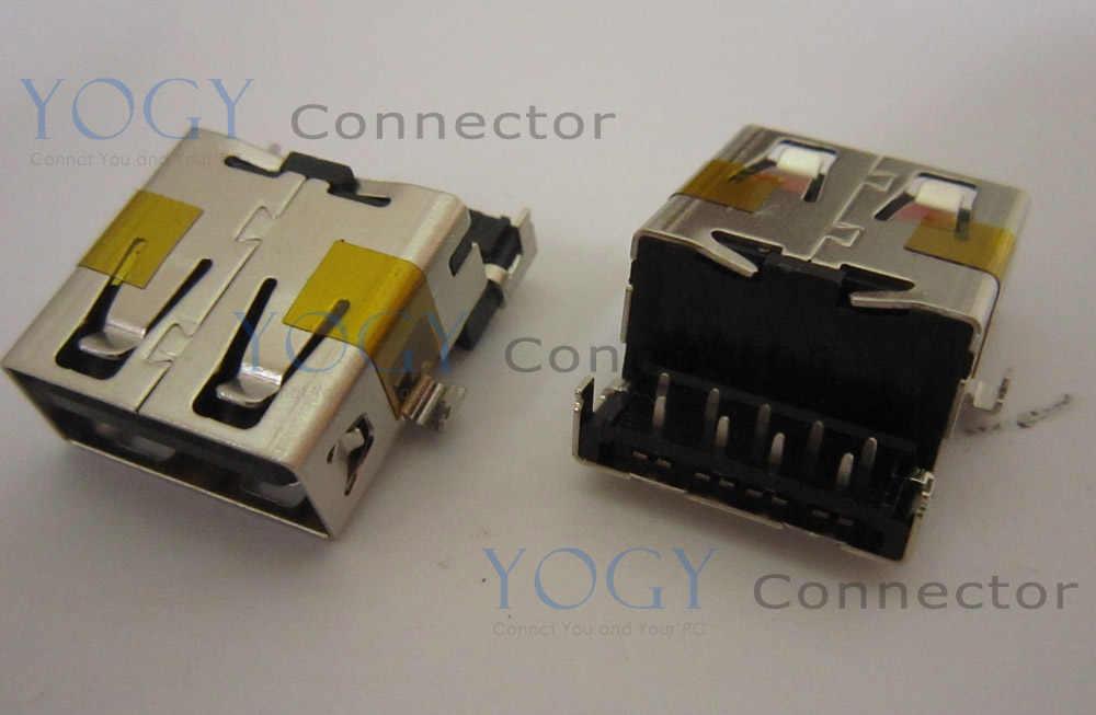 10 шт. Материнская плата ноутбука Общие 17 мм муфтовый стыковочный USB 3,0 Jack разъем совместим с Asus R503U X54 X55A X55U GL552V U57A G46VW серии