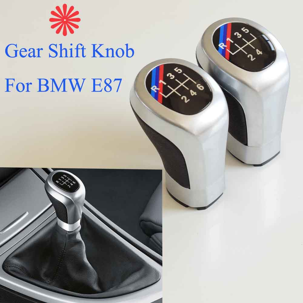 Image 2 - 5/6 Speed Gear Shift Knob Head Stick Shifter Lever Pen Handle HandBall For BMW 1 3 Series E81 E82 E87 E88 E90 E91 E92 E93-in Gear Shift Knob from Automobiles & Motorcycles