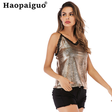 S-XXL Plus Size Sexy Lace Female Tank Tops Women Print Snake V Neck Womens Camisole Halte Tank Top Feminino Slim Summer Tanks front lace pocket geometric print tank top