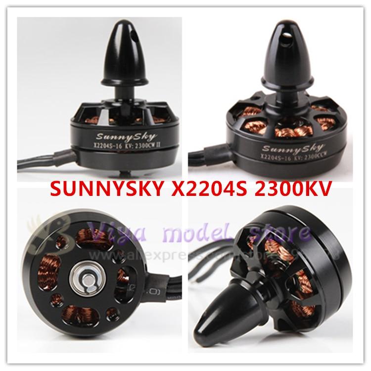 Original 4PCS SUNNYSKY X2204S 2300KV Brushless Motor CW/CCW for Mini QAV210 Quadcopter QAV250 Robocat 270 4 x sunnysky x2212 kv980 brushless motor page href