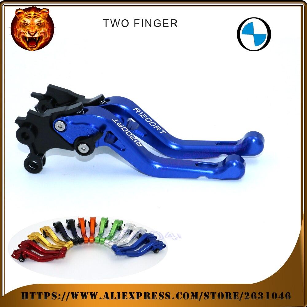 Voor BMW R 1200RT 2010-2013 Nieuwe Stijl Blauw Zwart 2-vinger rode - Motoraccessoires en onderdelen