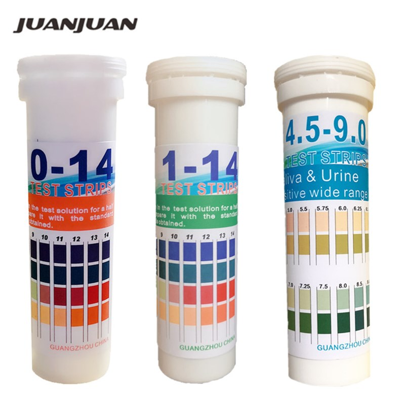 150 Strips/Set Universal Cylinder PH Test Strips Range (pH 1-14/0-14/4.5-9.0) 40%Off