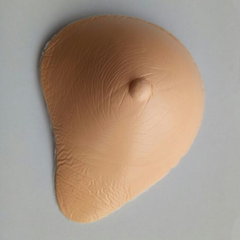 ФОТО 85C/90B/95A Size 6 300g/Piece Fashion Hot Selling Silicone Medical Breast Form,Light Weight Breast Better For Sports