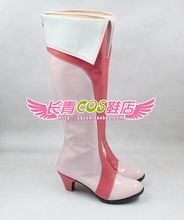 Pretty Cure Precure Cure Peach Love Momozono Rabu cosplay Shoes Boots Custom Made 185(China)