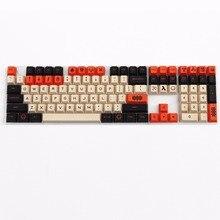 Carbon farbe 125 SCHLÜSSEL PBT keycap kirsche profil Farbstoff-Sublimiert MX schalter Für kirsche/NOPPOO/Flick mechanische tastatur keycap