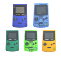GB Boy Color Colour Handheld Game Consoles Game Player With Backlit 66 Built In Games For
