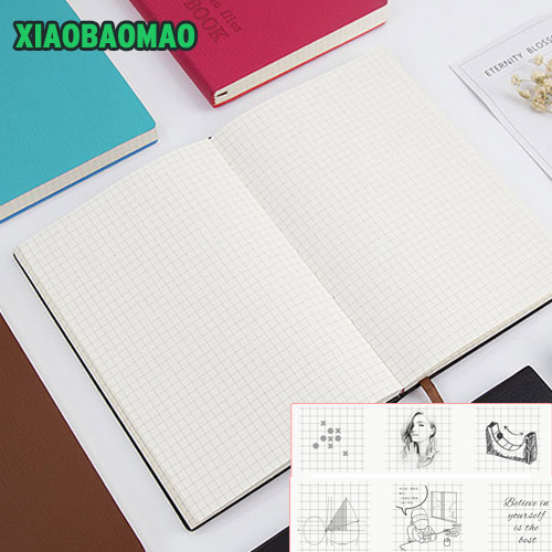 5mm small square grid notepad commercial notebook diary plaid books