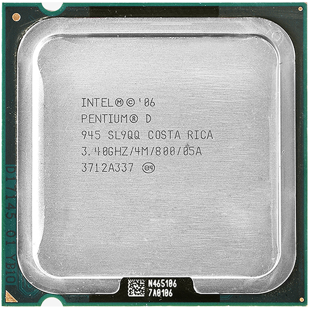 Intel Pentium D 945 Processor   PD 945 Intel D945  (3.4Ghz/ 4M /800GHz) Socket LGA 775 Free Shipping