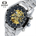 30M waterproof Dial diameter 40mm hollow steel business men automatic mechanical watch