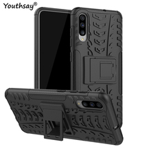 For Samsung Galaxy A70 Case Heavy Duty Hard Rubber Silicone Phone Cover for