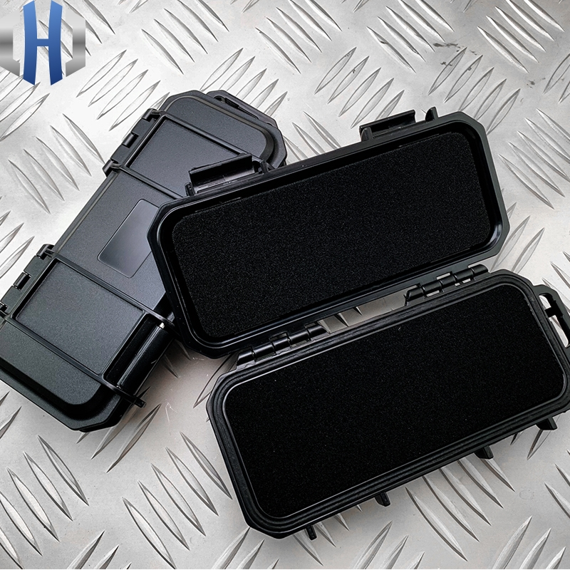 Knife Box Custom Tactical Waterproof Anti drop Knife Storage Box EDC Portable Anti shock Pressure Headphone Data Line Tool Box in Outdoor Tools from Sports Entertainment
