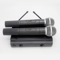 Finlemho Professional Microphone Wireless UHF Dynamic Vocal Karaoke Cordless Handled Mic PGX 58 For Home Studio Recording