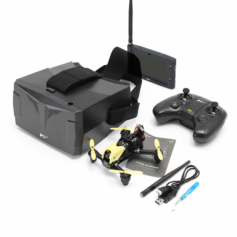Hubsan H122D X4 5.8G FPV Micro Racing RC Camera Drone Quadcopter W/ 720P Camera Goggles Compatible Fatshark VS MJX B6