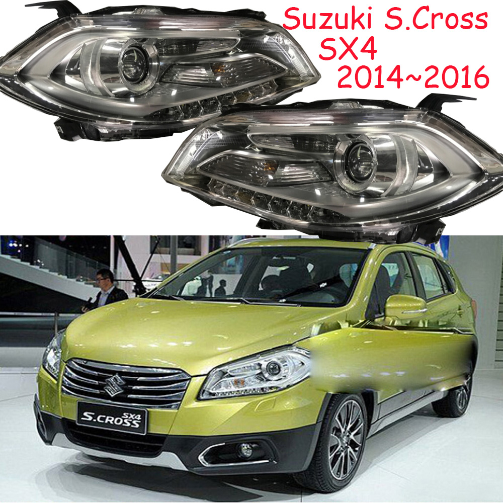 HID,2014~2016,Car Styling for SX4 Headlight,Aerio,Ciaz,Reno,kizashi,s-cross,samurai,Forenza,Equator,sidekick,SX4 head lamp магазин где можно купить машину reno