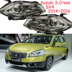 Image 1 - HID,2014~2016,Car Styling for SX4 Headlight,Aerio,Ciaz,Reno,kizashi,s cross,samurai,Forenza,Equator,sidekick,SX4 head lamp
