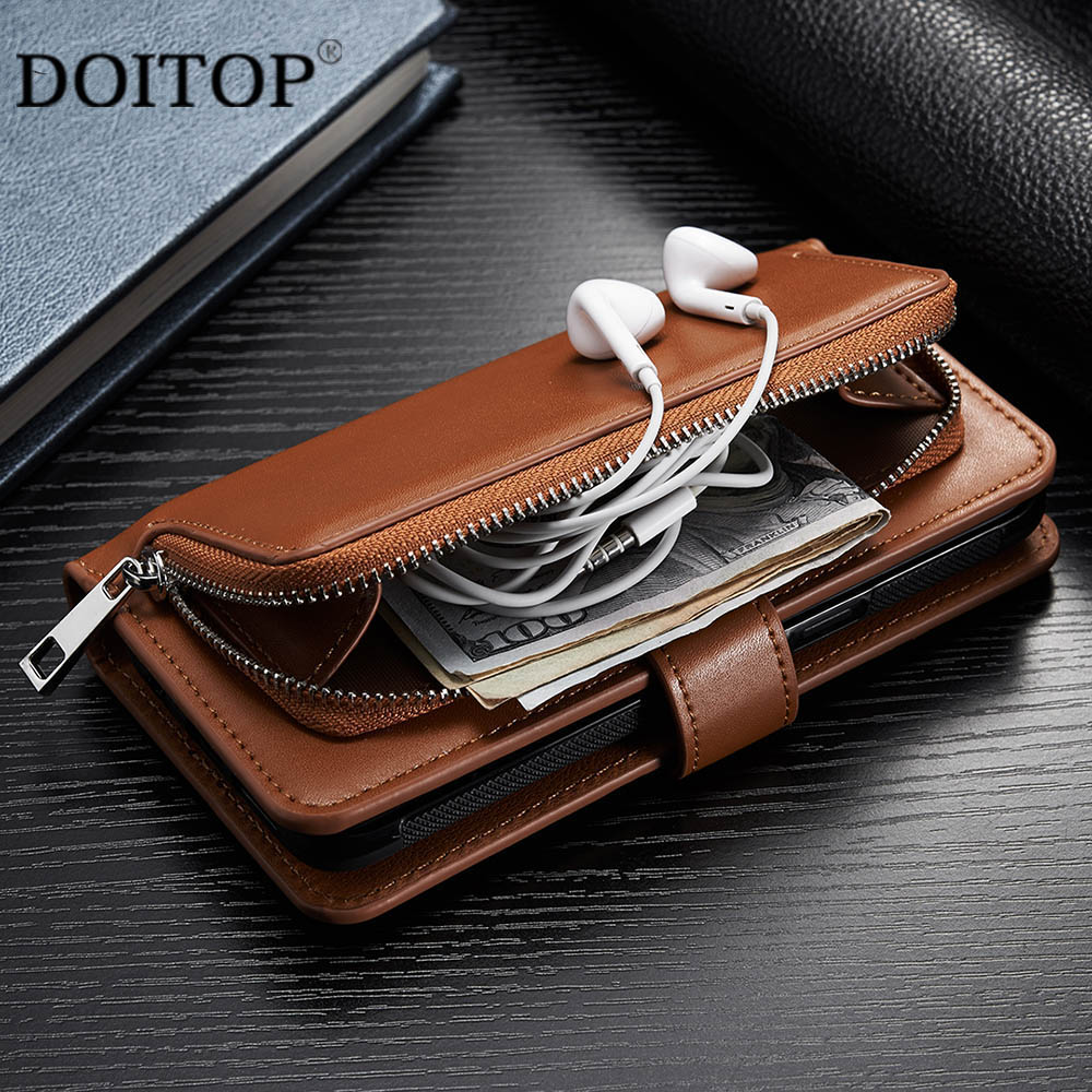 Mini Composite 1080p Hdmi To Rca Audio Video Av Cvbs Adapter Ps2 Wiring Diagram Doitop Pu Leather Phone Bags For Iphone 7 6 6s 8 Plus Flip Wallet Case