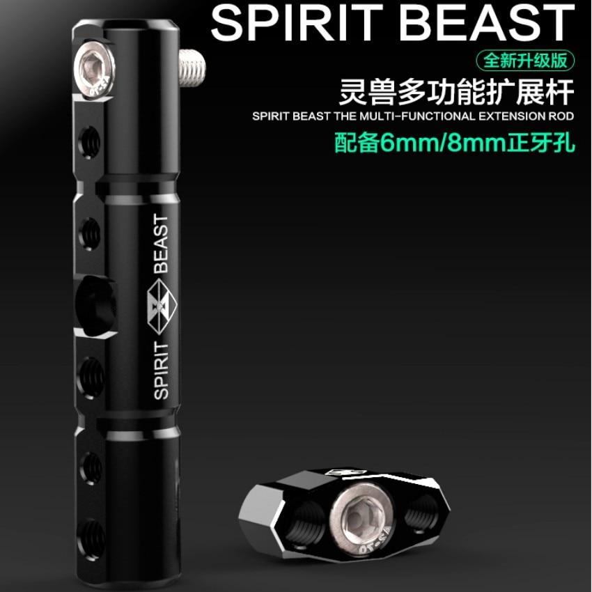 Spirit Beast motosiklet güzgü İşıq / telefon üçün - Motosiklet aksesuarları və ehtiyat hissələri - Fotoqrafiya 1