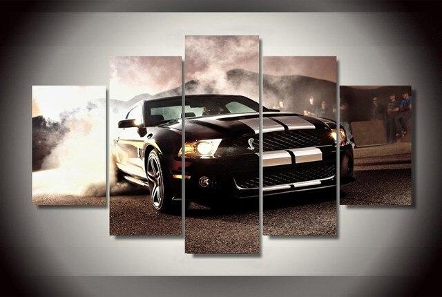 5 Stücke Ford Mustang Cobra GT500KR Autos Moderne Home Decor ...