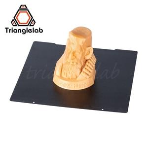 Image 4 - Trianglelab 241x252 Двусторонняя текстурированная пей Рессорная сталь лист с порошковым покрытием пей сборки пластины для Prusa i3 MK2.5S mk3 MK3S
