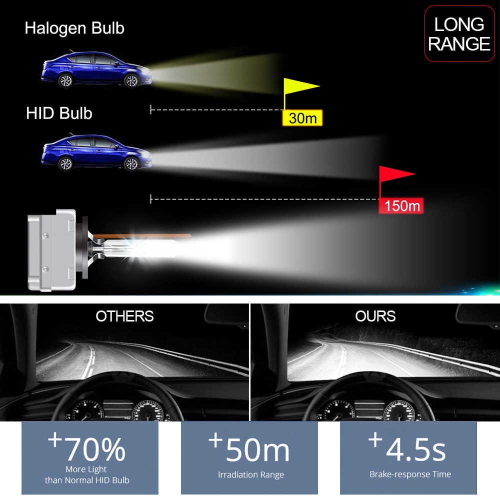 Автомобильные фары 2 шт. D1S D2S D3S D4S 4300 K 6000 K 8000 K 35 Вт ксенон лампочка D1R D2R D3R D4R налобный фонарь