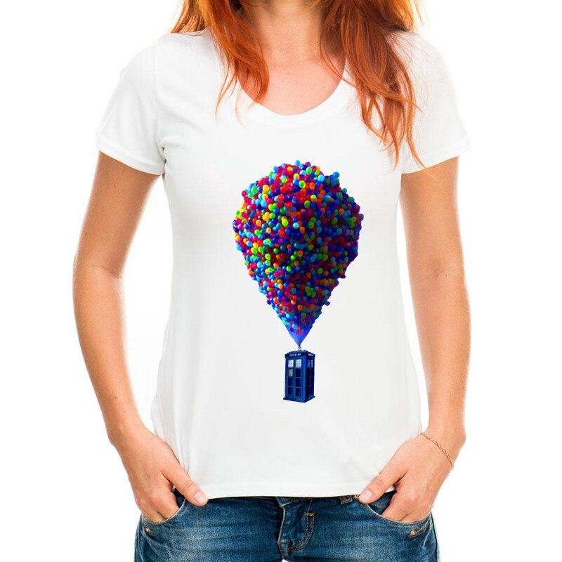 Doctor who Womens T-Shirt 2018 Summer fashion tshirt casual Box print t shirt for girl comfortable top tees