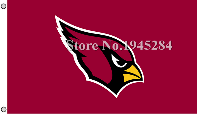 NFL Arizona Cardinals Flag Banner New 3x5ft 90x150cm Polyester Flag Banner 2, free shipping ...