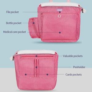 Image 4 - Sunveno Fashion Maternity Hospital Bag Prenatal Examination Bag before Labour Diaper Bag Nappy Bag