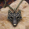 Viking Wolf Necklace 2