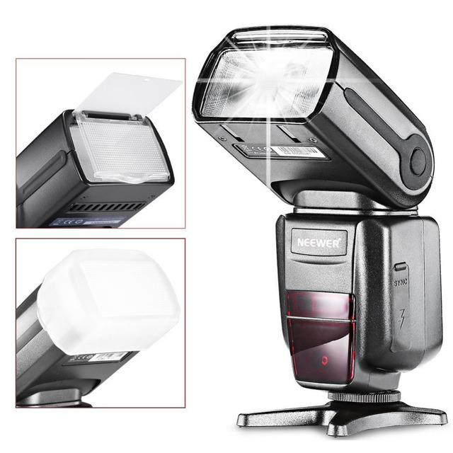Neewer NW-565 E-TTL Slave Speedlite Flashlight+Flash Diffuser for Canon 5D II/7D/6D/60D/700D/30D/40D/650D/all Other Canon Models