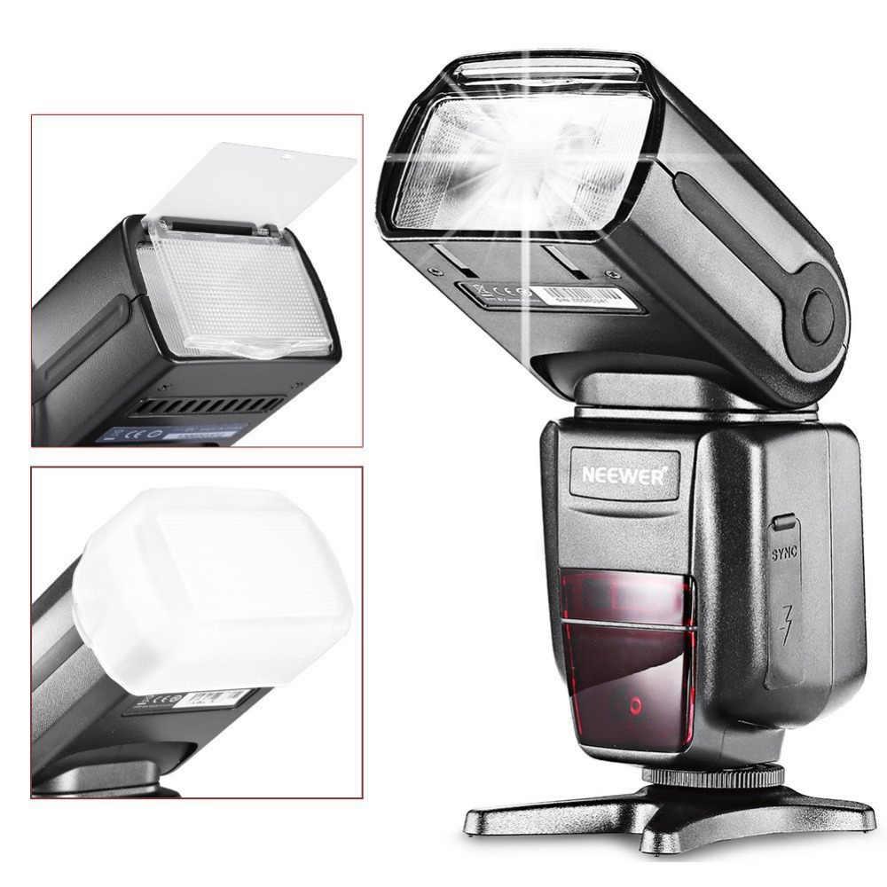 Neewer NW-565 E-TTL esclave Speedlite lampe de poche + diffuseur Flash pour Canon 5D II/7D/6D/60D/700D/30D/40D/650D/tous les autres modèles Canon