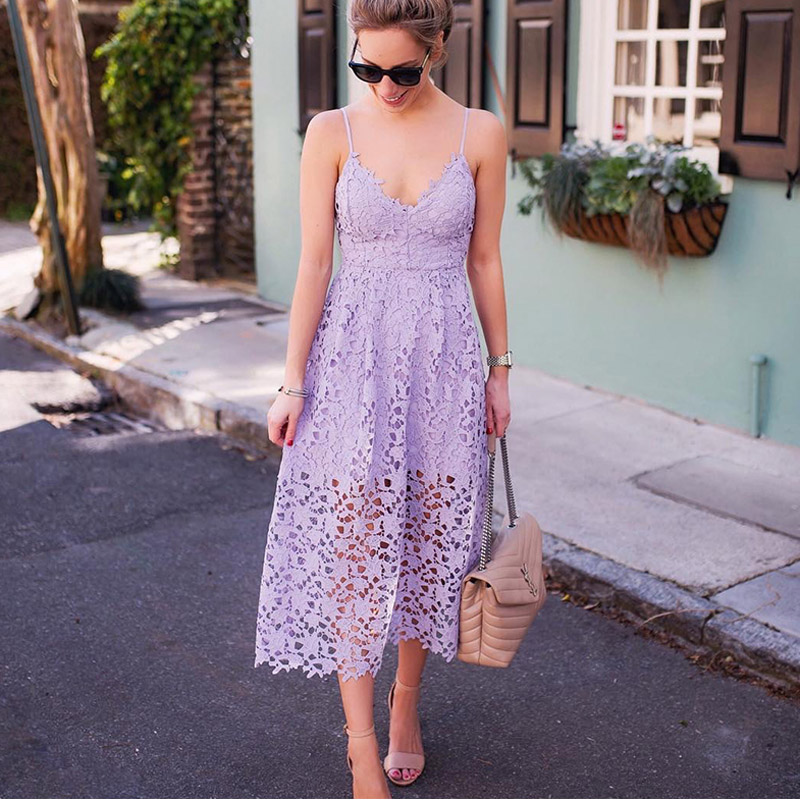 abc8a26096d3b V neck Lace Crochet Backless Women Long Dress Hollow Out Spaghetti Strap  Sleeveless Sexy Purple Red Summer Party Dresses Female