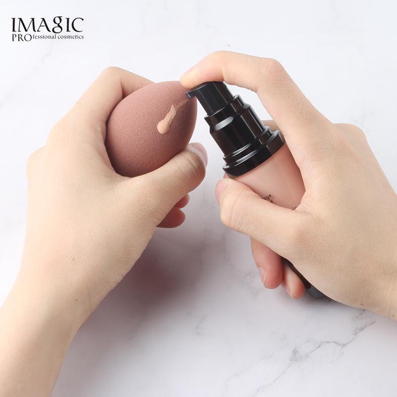 IMAGIC Makeup Foundation Sponge Makeup Cosmetic puff Powder Smooth Beauty Cosmetic make up sponge Puff