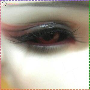Image 5 - Zabawki oczy szklane oczy dla lalki BJD oczy piłka mała tęczówka 12mm 16MM 18mm czarny czerwony kolor dla 1/4 1/6 1/3 Sd lotita lalki BJD safeye