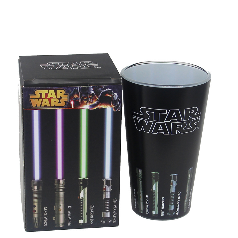 US $12 42 46% OFF Star Wars coffee mugs glass color change cups and mugs  magic funny wine beer glasses lightsaber creative drinkware-in Mugs from  Home