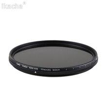 49 мм 52 мм 55 мм 58 мм 62 мм 67 мм 72 мм 77 мм 82 мм фильтр нейтральной плотности ND2-400 фильтр объектива для камеры Canon Nikon