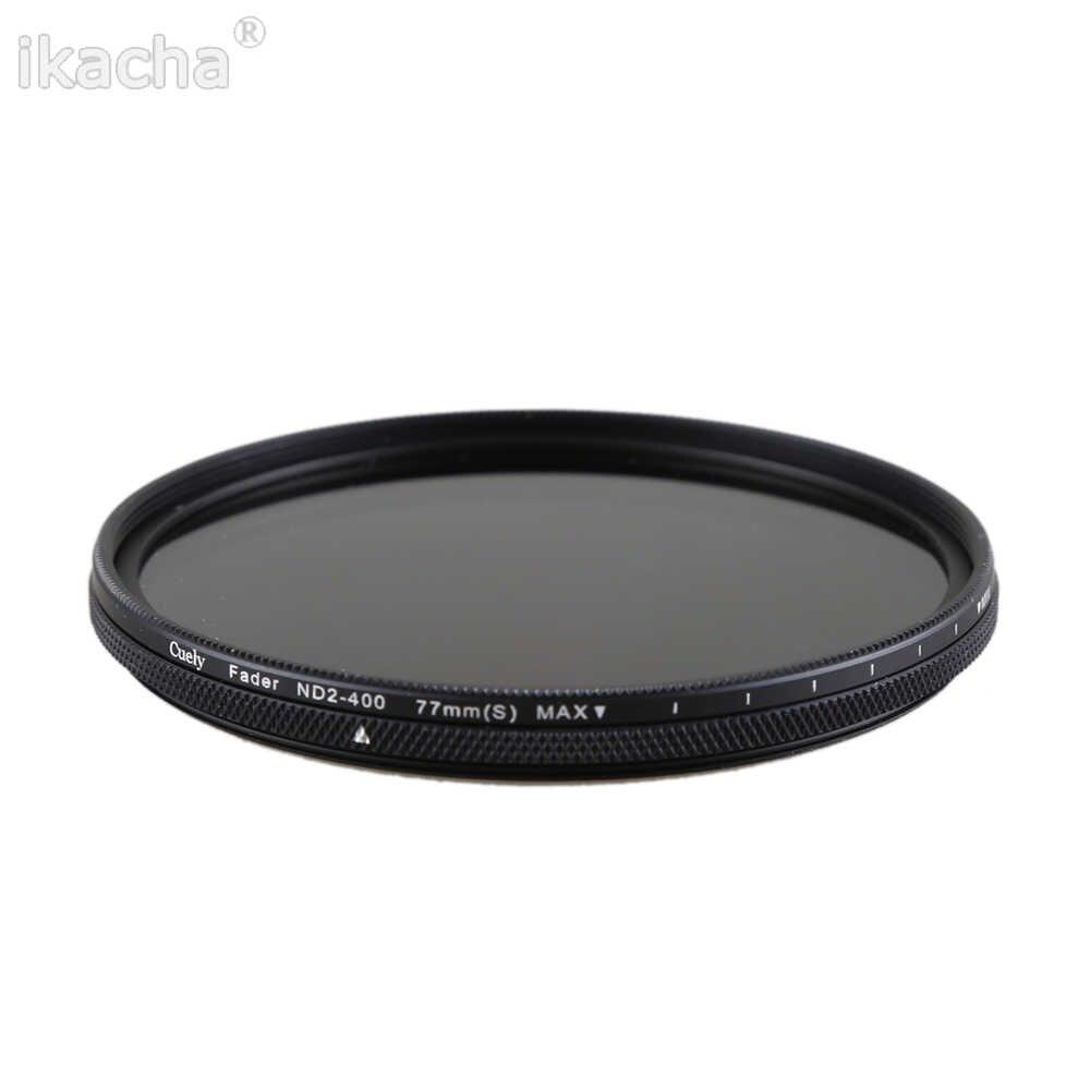 49mm 52mm 55mm 58mm 62mm 67mm 72mm 77mm 82mm ND Filtre nötr Yoğunluk ND2-400 Lens Filtre Canon nikon kamera