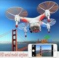 Incrível 2.4 GHz 4CH 6-Axis Gyro Wi-fi Em Tempo Real de Vídeo FPV RC Quadcopter UFO com Câmera 0.3MP HD