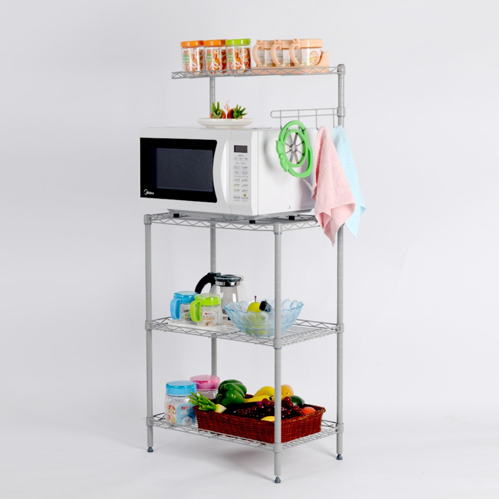 Microwave Cart With Storage Hodedah Microwave Cart With