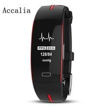 ACCALIA Professional Sport Smart Watch IP67 Waterproof ECG+PPG Wristband Fitness Tracker electronics wristband