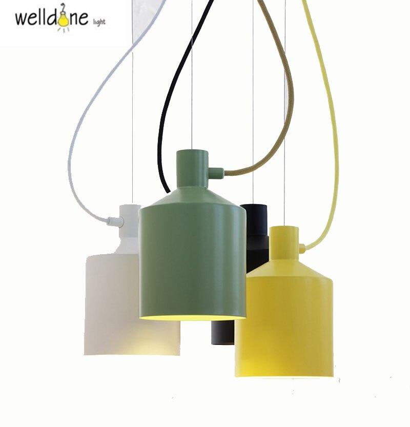 Moderne minimaliste mode décoratif pendentif éclairage salon chambre vêtements magasin café