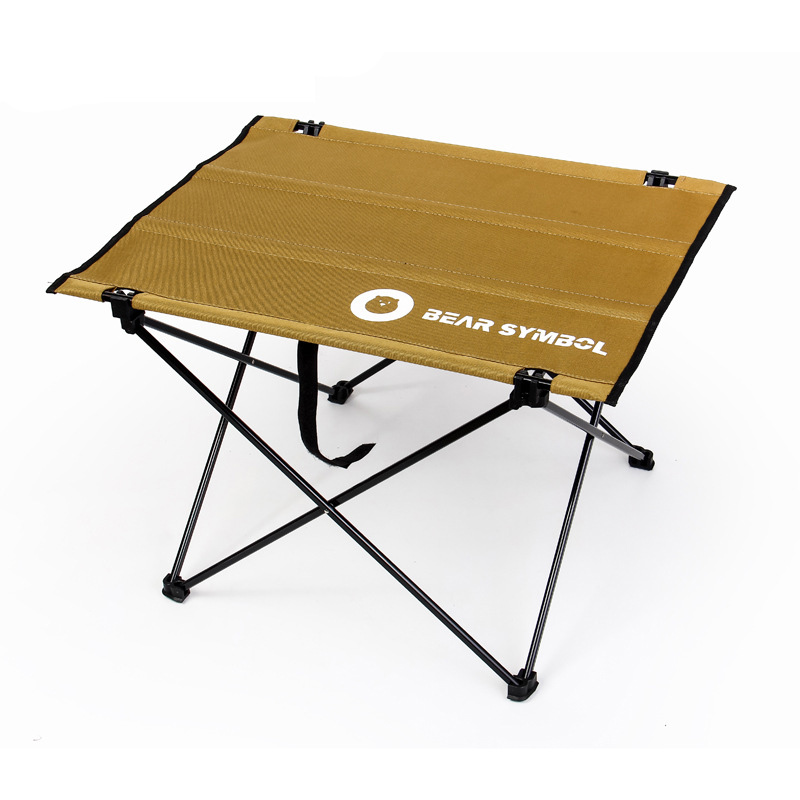 Camel Outdoor Table For 2 People Fishing Camping Hiking Folding Desk Ultralight Weight Travel Light Assembly Al Tables 56x42x39
