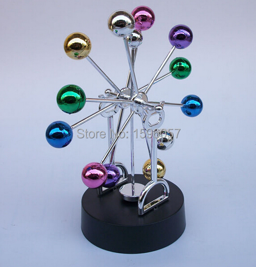 Colorful Balls Ferris Wheel Perpetual Motion Home Office Desk Table Decoration
