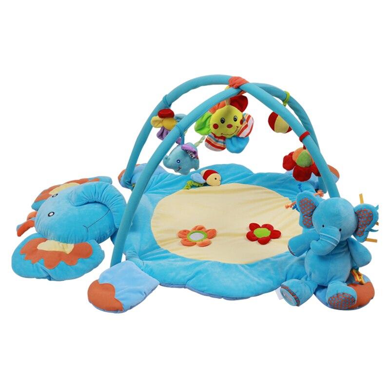 Doux bébé Doux Bébé Clôture de Jeu Ramper Garde-Corps Obstacles Enfants Playen avec 6 pièces Cloches pour les Activites Panda Style