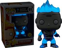 Exclusive Funko pop Glows in the dark Official Heroes: Firestorm White Lantern Vinyl Action Figure Collectible Model Toy In Box
