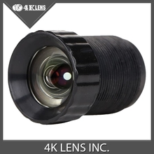 4K LENS 4.14mm Lens f/3.0 74d HFOV 5MP No Distortion 1/2.5″ for Gopro Camera Modification Hot Free Shipping