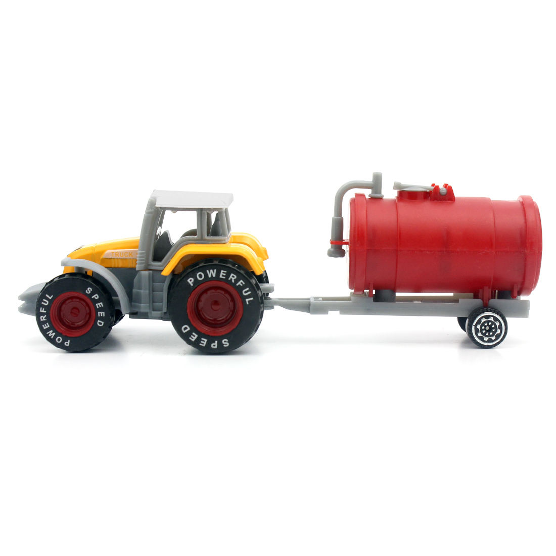 Mini Harvester Truck Farmer Farm Tractor Planting Machine Sprinkler Diecast Model Engineering Car Children's Toys for Boys